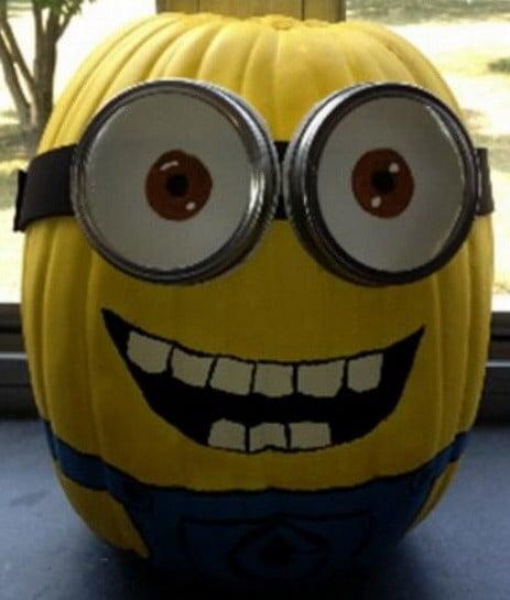 Pumpkin Carving Ideas Minion 2