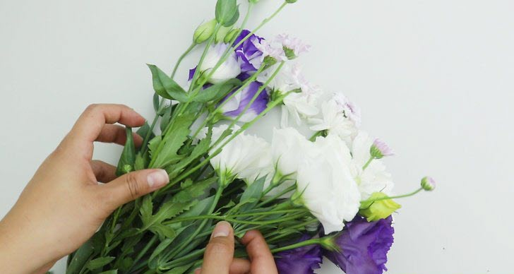 Dried Flowers How To