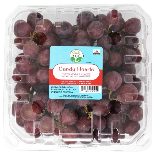 Candy Heart Grapes